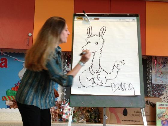 Anna Dewdney Draws