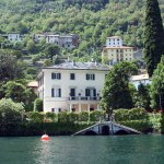 George's House on Lake Como--I'm in the window, waving!