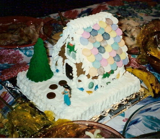 first_gingerbread_house